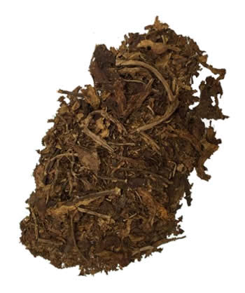 american virginia flue cured tobacco scraps