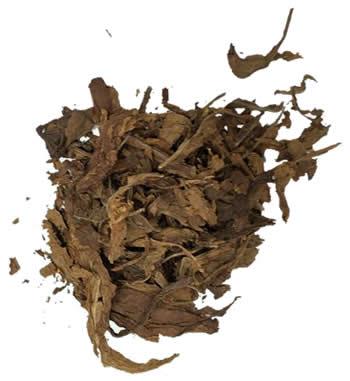 Organic Burley Leaf Tobacco Scraps