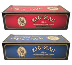 Zig Zag 100′s Size Cigarette Tubes | Full Flavored & Light