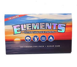 Elements Single Wide Rice Rolling Papers
