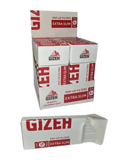 Gizeh 5.3mm RYO Filter Tips – Extra Slim