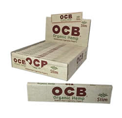 OCB Organic Hemp Slim Rolling Papers