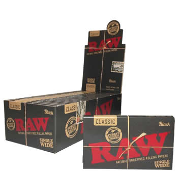 RAW-Black-Single-Wide-Rolling-Papers