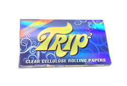 Trip2 Clear Cellulose 1 1/4 Rolling Papers