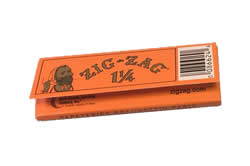 Zig Zag Orange Rolling Papers – 1 1/4 Size Orange Pack
