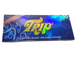Trip2 Clear Cellulose King Size Rolling Papers